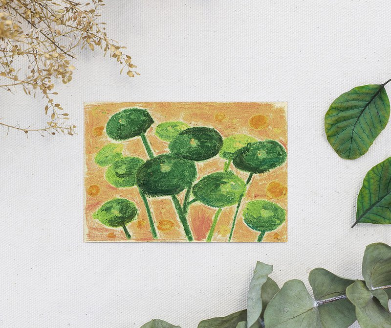 post card Pilea