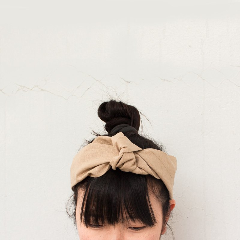Hair Day | 20 Series. One-piece hair band. Hair ring. Bow tie. Gift. Palm tree cloth.