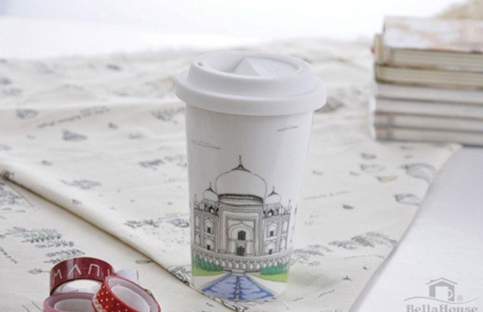 JB Design I'm not a paper cup ~ India Taj Mahal