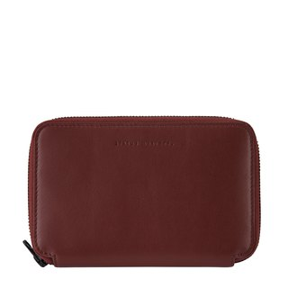 VOW Passport Holder _Cognac / Wine Brown