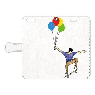[Notebook type iPhone case] UP 2