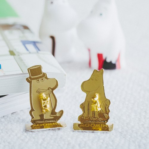 Moominpappa & Moominmamma Earrings  - Silver 925 plated with Gold
