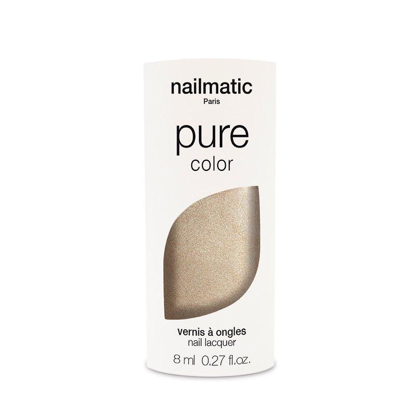 Nailmatic 純色生物基經典指甲油-GALA-珠光金