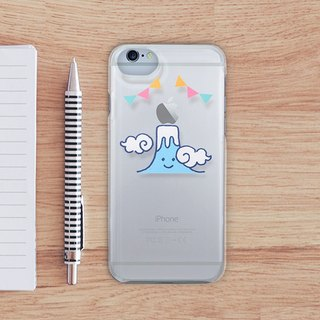 Clear iPhone case - Mt. FUJI -