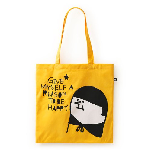 Give yourself a happy reason. Big ears bag / soft cotton