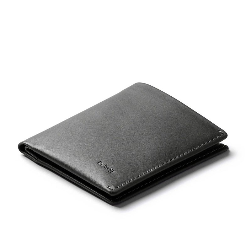 bellroy Note Sleeve Wallet 經典直式真皮皮夾 - Charcoal