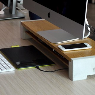iMac screen mount monitor stand