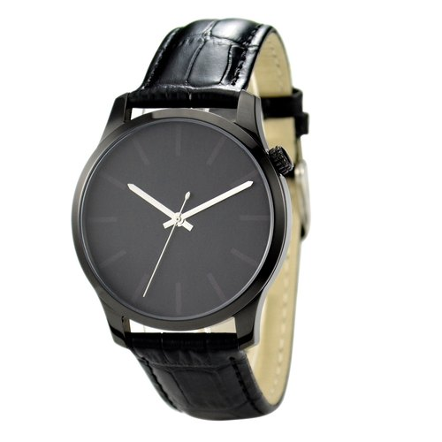 Indistinct Watch (Black) Big Size I Free shipping worldwide