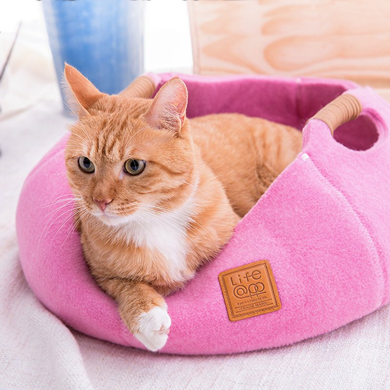 Cat Basket - Cherry Blossom Powder (for cats and small dogs)