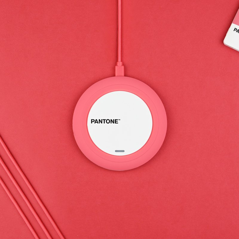 Pantone 10W Wireless Charger Qi-Certified