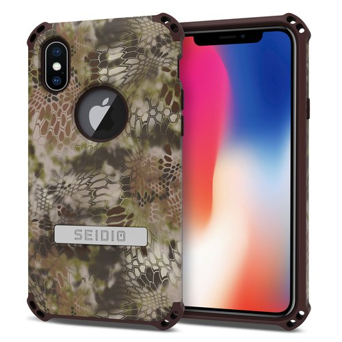 Military Class Quad Corner Crash Case / Case for iPhone X-Wilder - DILEX ™ x KRYPTEK Series