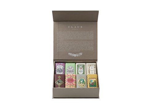 [Portugal] a century Queen's royal soap Classico & Fantasia mini soap boxes (8 in)