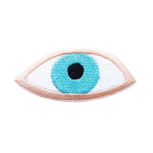 Timo eye - embroidered patch