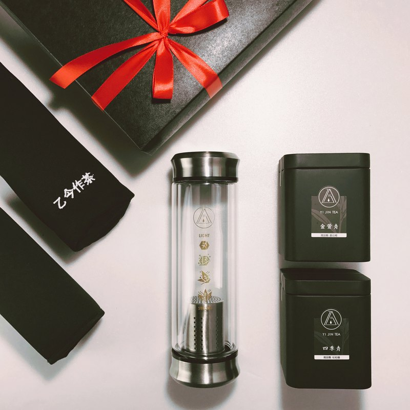 [simple-black gift box series] SHARE double glass brewing bottle / Jin Yuqing / Sijiqing