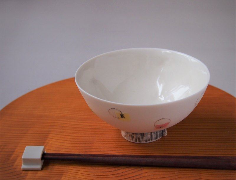 Porcelain color bowl L