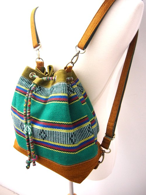 【Missbao Hand Creations】Taiwanese Aboriginal Bags - Back/Slantback/Shoulder Back