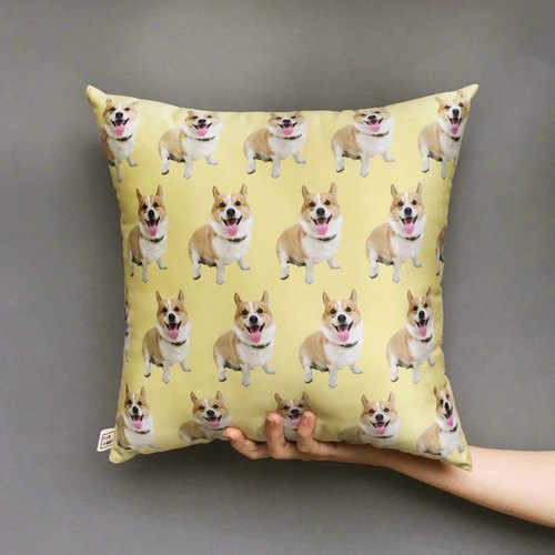 FunPrint [customize] Pet Pattern Pillow