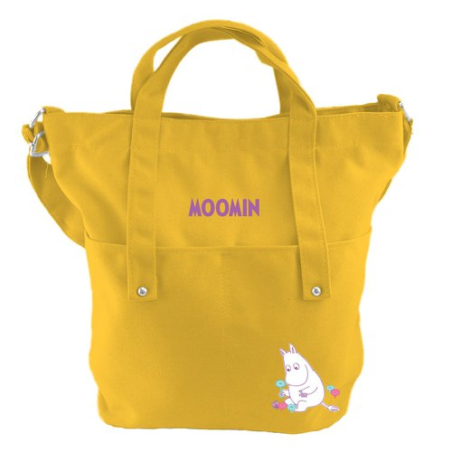 Moomin Moomin authorized - College wind shoulder bag (yellow-MOOMIN), CE11AE03