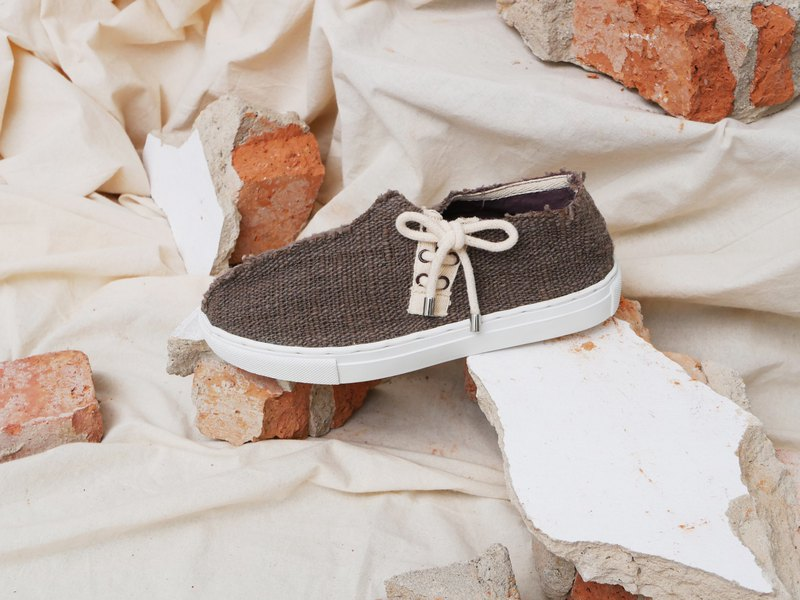 sneaker cotton natural-dye
