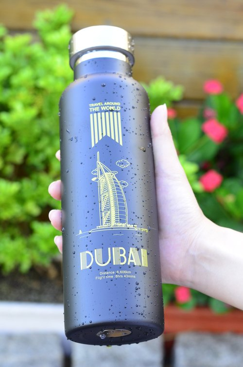 【Welfare goods】 micro-blemish @ half-price clearance @ Driver long-life steel vacuum flask vacuum flask (Dubai) 600ml - only this one