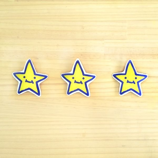 1212 design fun funny stickers waterproof stickers everywhere - Super Star