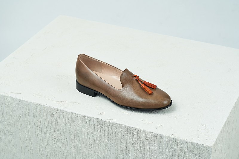 HTHREE Tassel Loafer / Cocoa / Cocoa / Tassel Loafer