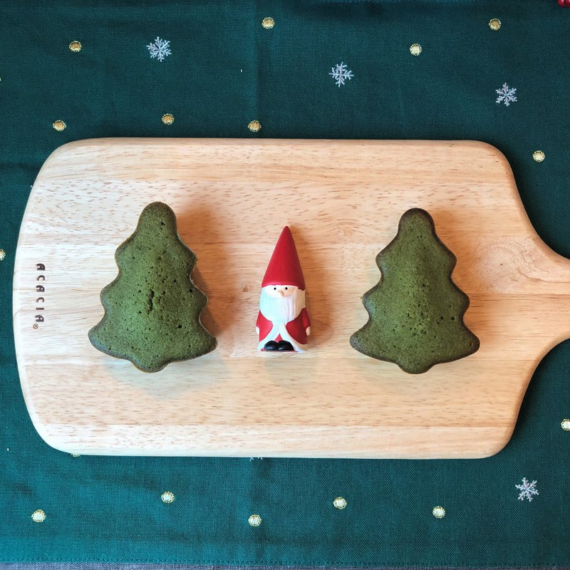 . Tabby made it. Christmas Tree Matcha Tea Nan Xue - 6 Trees