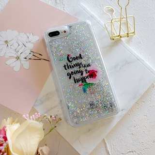 PATTERN LAB | Liquid Glitter Case for iPhone 8/7/6s Plus - Good Things