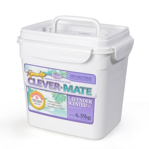CEVER-MATE Certified Cat Litter for Filtered Wines - Elegant Lavender (6.35 kg / Bucket)