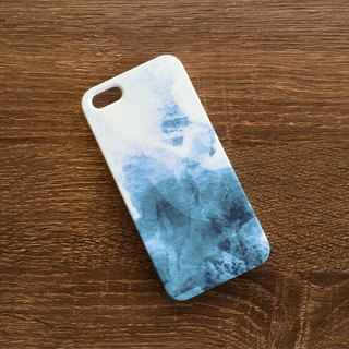 Blue Orange Soft Drink Mobile Shell Hard Case iPhone Android