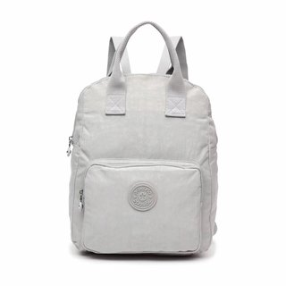 Waterproof beige white backpack handbag / pen bag / computer bag / shoulder bag - multi-color optional #8554