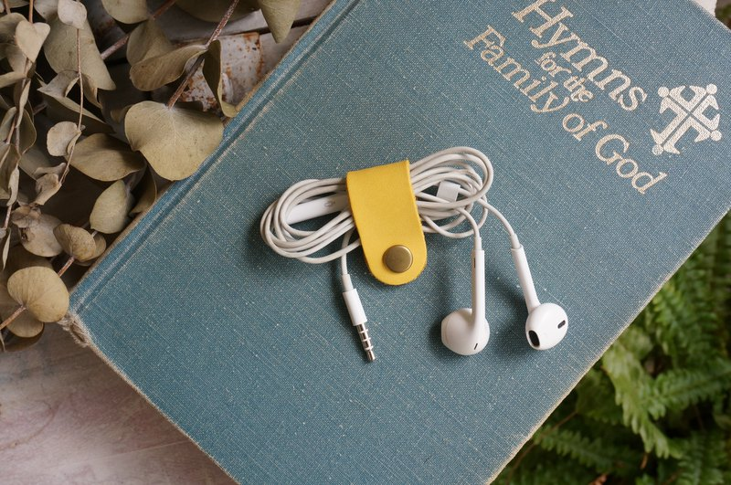 Yellow  - Short Style Collector for Earphone