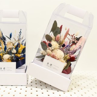 Third Floor【 Sealing Missing】|Portable Hardcover Box|Dry Flower|Eternal Life Flower|Without Flower