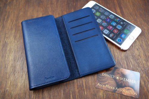 APEE leather handmade ~ wallet phone sets ~ iphone 8 plus