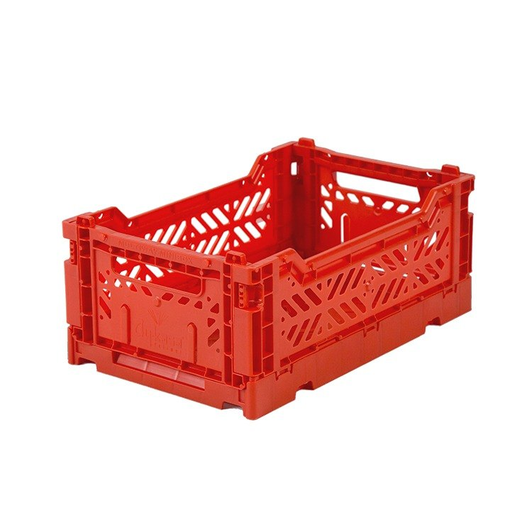 Turkey Aykasa Folding Storage Basket (S) - Red