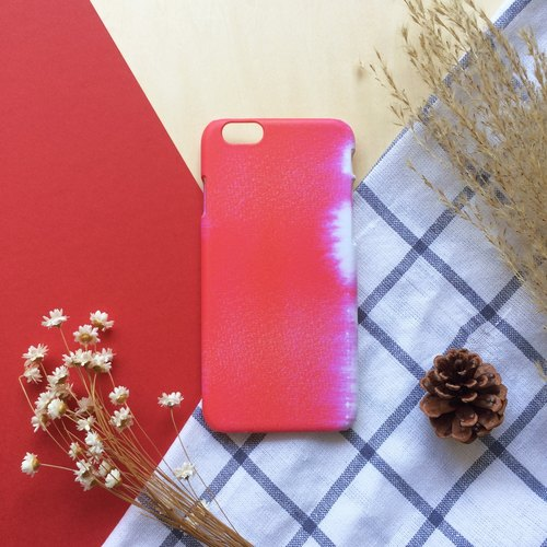 Sweet red watercolor. Matte Case (iPhone, HTC, Samsung, Sony)