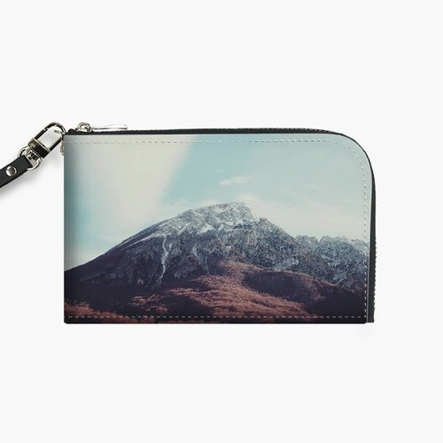 Snupped Isotope - Phone Pouch - Mountains in the background XIII