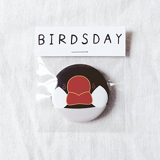 Blackbird first type badge / badge / pin / brooch
