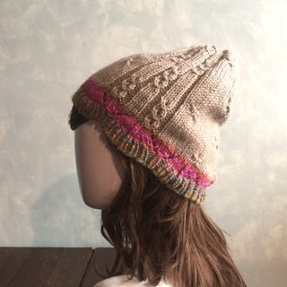 No solution, warm woven wool cap