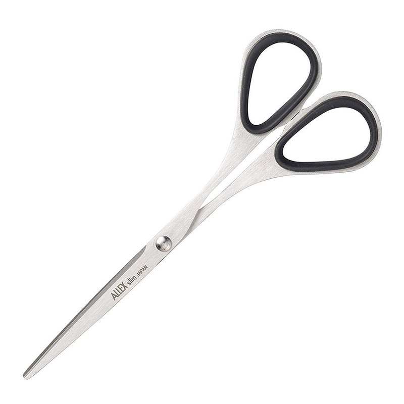 Forest blade Slim extremely thin blade scissors (middle) 120-black