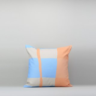 Pillow Case / Waterproof Paint / Orange Blue / No Pillow