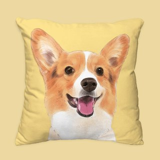 I will love you forever classic Koji dog animal pillow / pillow / cushion
