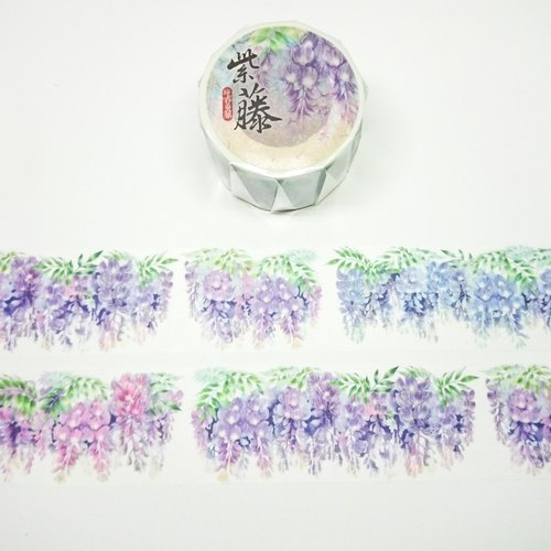 [Spring] Wisteria Paper Tape