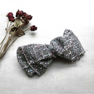 Glitter ash small fragrance wind giant butterfly hair band - the whole detachable
