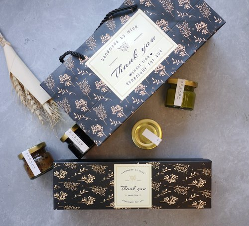 La Santé French Handmade Jam - 抺 Tea Edition Small Jam Gift Box 4 Canned Wheat Special Edition