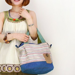 ☆ Hammock ☆ 彡 Denim patchwork shoulder bag