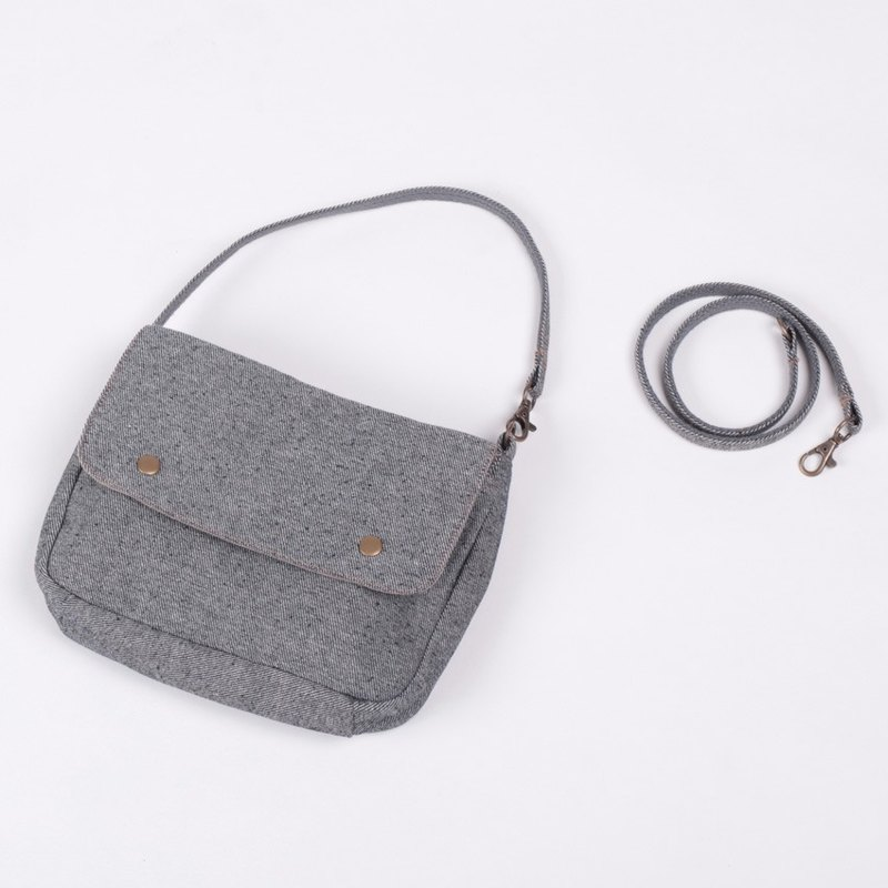 Multifunctional portable bag - tannin gray