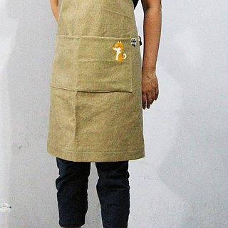 Wool felt Chai Tailang apron (thick pound canvas) __made as zuo zuo hand made wool felt apron