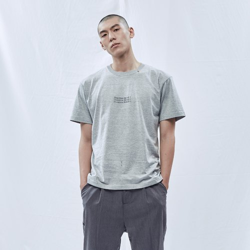 DYCTEAM - Semicolon Series Tee (Light Gray)