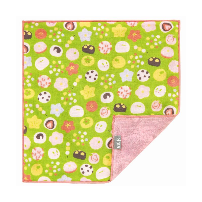 Japanese Prailiedog Imabari Organic High Quality Pure Square Towel - Japanese Style and Fruit